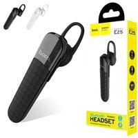 téléphones commerciaux sans fil achat en gros de-E25 Hoco business bluetooth casque sans fil casque sport basse bluetooth écouteur avec micro pour téléphone iPhone xiaomi