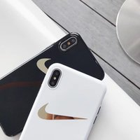 Wholesale one x case online – custom One Piece Luxury phone case For iPhone S P X XS fashion Electroplate gold stamping mark Designer phone back cover
