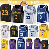 tops para la venta al por mayor-23 James Davis jerseys 3 23 3 LeBron Anthony hombres calientes de la venta jerseys retro de baloncesto superior