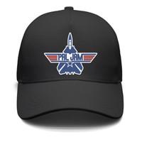 einfache schwarze baseballmütze großhandel-Pearl Jam Flugzeug schwarz für Männer und Frauen Trucker Cap Baseball cool ausgestattet Plain UK Running Hüte