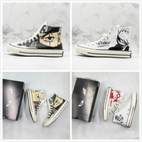 Wholesale coolest canvas shoes for sale - Group buy 2019 Cool Graffiti Kakashi Naruto X Convase Chuck s Multicolor Fur Buying F1 Casual Trainers Sports Sneaker Men Women Designer Shoes