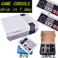 mini tvs venda venda por atacado-Venda quente Mini TV Game Console pode armazenar 620 jogos de Vídeo Handheld para consoles de jogos NES com caixas de varejo OTH733 frete grátis