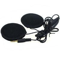 kask walkie talkies kulaklıklar toptan satış-Evrensel 2 Hoparlörler Kulaklık Ses Kontrolü İçin MP3 GPS İçin Motosiklet In-Kask Pratik Aksesuarlar 90805