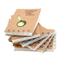 karikatur spirale notebook großhandel-Spiral Coil Schreibwaren Cartoon Recite Tragbare Notizbuch Kreative Notizblock Geschäftstagebuch Büro Student Kraft notebook