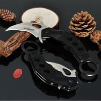 edc mini garra karambit al por mayor-Blade-Tech Rip Tide karambit Claw Knife AUS-8 blade G10 mango garra mini garra camping supervivencia cuchillos Navidad regalo cuchillo
