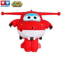 AULDEY Mini Figures Robots Super Wings 19 Batch Cher 7 Season Single Transforming Airplane Animation Toys Kids Boys Christmas Toy Gifts