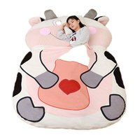 Wholesale model chicken for sale - Giant Stuffed Animal Chinese Zodiac Sofa Bed Soft Plush Sleeping Bag Mat Dog Monkey Chicken Tiger Dragon Cow Models Sizes