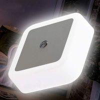 mini luzes embutidas led venda por atacado-Diodo emissor de luz inteligente parede mini recesso iluminação escadas hotel noite luz linha de controle do sensor de indução levou o solo à terra bh2044 cy