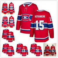 carey price enfants maillots achat en gros de-Jeunes hommes Canadiens de Montréal Jesperi Kotkaniemi 6 Shea Weber Carey Price Max Domi Jonathan Drouin Richard Lafleur ROY Gallagher Kid Maillots