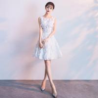 chinesische polyester-troddel großhandel-Sexy Slim Verbessertes Cheongsam Feather Tassel Chinesisches Abendkleid Vestidos Größe S-XXL