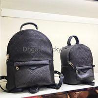 Wholesale mini bags men resale online - large backpack for women Genuine leather back pack for men shoulder bag handbag presbyopic mini backpacks lady messenger bag