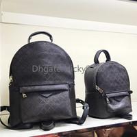 Wholesale men backpacks for sale - Group buy large backpack for women orignal Genuine leather designer back pack for men shoulder bag handbag presbyopic package messenger bag