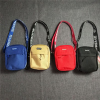 Wholesale gym bag resale online - 2019 deinger bags Women s Men s Travel Bags Belt Long Strap Waist Bag Messenger Bag Letter Embroidered Chest Men s Fashion Sports wallet