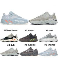 Wholesale women shoes styles resale online - New Style Analog Wave Runner Running Shoes For Men Women Geode Static Salt Mauve Inertia Cement s Trainers Designer Sports Sneakers