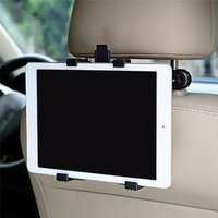 baş dayanağı tutacağı toptan satış-Moda Yeni 360 Rotasyon Ayarlanabilir Araba Arkalığı Kafalık Dağı Tutucu Için iPad / Tablet Yeni Ayarlanabilir Montaj Tutucu
