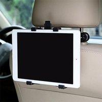 ingrosso titolari di tavoletta-Nuovo supporto regolabile del supporto del poggiacapo dello schienale dell'automobile di rotazione 360 di nuovo modo per iPad / compressa Nuovo supporto del supporto regolabile
