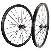 29er tekerlek seti karbon toptan satış-Süper hafif 29er Dağ Bisikletleri karbon jantlar 35mm genişlik 25mm derinlik tubeless UB mat finish ile tubeless MTB DH karbon wheelset 791/792 hub