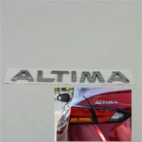 For Nissan Altima Platinum Emblem Rear Trunk Sign Badges Logo Auto Decals