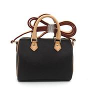 ingrosso mini sacchetto croce-Hot SPEEDY spalla M61252 Mini borsa carina tracolla in pelle a tracolla 16cm Female NANO secchio borsa mini fiore marrone CLUCH BAG