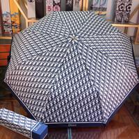 guarda-chuvas para chuva venda por atacado-Baixo preço Vender Alta qualidade capa de chuva de luxo top marcas designer de estilo guarda-chuva Com a caixa frete grátis