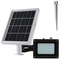 luzes para quintal venda por atacado-Luz solar do diodo emissor de luz da luz do diodo emissor de luz da avaliação da impermeabilidade de 500 lúmens IP65 Projector solar perfeito para o pátio, o miradouro, ou o quintal