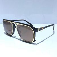 amuletos de metal para gatos al por mayor-Nuevo diseñador de lujo para mujer Z1085E Gafas de sol con encanto Ojo de gato Lentes de Pentagrama Cuentas de destello de metal Diseño de galsses 100% Protección UV400
