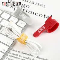 Wholesale wire cable management online – BUBM Reusable Fastening Cable Ties Wire Organizer Cord Rope Holder Cable Organizer for Earbud Headphones Wire Wrap Management