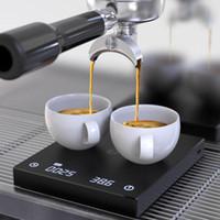 Wholesale timer digital electronics for sale - Group buy BLACK BASIC Coffee Scale Smart Digital Scale Pour Coffee Electronic Drip Coffee Scale with Timer kg g