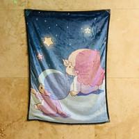 ingrosso stelle twin-Piccola coperta Twin Star Anime di velluto decorazione calda Bed Soft Home tiro sofà Coperte unisex regalo NUOVO