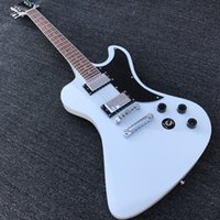 Wholesale white guitar knob for sale - Group buy 2020 Factory Outlet Electric Guitar with Silvery Metal Hardwares rd Mahogany Body best selling