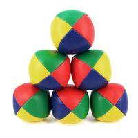 Wholesale magic juggling balls resale online - 3PCS Juggling Balls Set Classic Bean Bag Juggle Magic Circus Beginner Children Kids Toy Balls Kids Interactive Toys