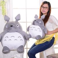 juguetes de los niños al por mayor-Nuevo 20/30 CM de Dibujos Animados Lindo Relleno Mi Vecino Totoro Juguetes de Peluche Regalos Juguetes Para Niños Juguete de Peluche Para Niños Regalo Animal Muñeca de juguete