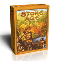 Super Classical STONE AGE Board Game Table Games Cards Gift
