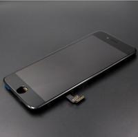 digitalkamera lcd-anzeige großhandel-NEUE Qualität für iPhone 7 hinteres weißes Anzeige LCD mit Touch Screen Analog-Digital wandler Ersatz + Frontkamera geben DHL frei
