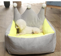 Wholesale white princess bedding for sale - Group buy Comfortable Dog Sofa Cat Nest Removable Pet Bed Easy To Clean Dog House Kennel Princess Pet Sleepping Cushion Puppy Teddy Basket