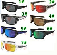 bisiklet sürme gözlükleri toptan satış-YAZ MARKA YENI adam ayna plastik çerçeve Bisiklet sürme güneş gözlükleri erkekler Sürüş gözlük kadın sprot güneş gözlükleri gözlüğü 7 renk ücretsiz gemi