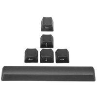 commutateurs clavier clavier achat en gros de-6 touches ESC + Barre d'espace + touche de direction Caps Clavier mécanique translucide KeyCap Pour Cherry MX Gaming Keypad Switch