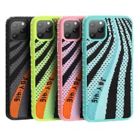 telas de pc al por mayor-JOYROOM para Iphone Caso 11 YZ Zapatos caja del teléfono de cubierta protectora cubierta de tela Hybird dura de la PC TPU para el iPhone 11 Pro Max