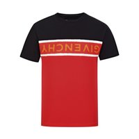 t-shirt straßenabnutzung großhandel-18ss Sommer Straße tragen Europa Paris Mode Männer Hohe Qualität Große Gebrochene Loch Baumwolle T-shirt Lässig MÄNNER T-shirt T-shirt M-3XL