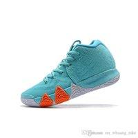 vendas de céu venda por atacado-Barato novo 2019 Mens Kyrie Irving sapatos de basquete Poder é Feminino Sky azul kyries 4 s IV tênis Formadores com caixa para venda