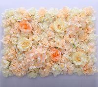 ingrosso artificial flowers free shipping-fiore muro di seta tracery rosa crittografia floreale sfondo fiori artificiali fase di matrimonio creativo spedizione gratuita WT055