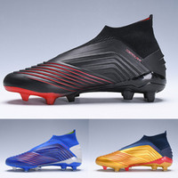 Wholesale children shoes for sale - Predator Archetic kids soccer shoes FG High Top chuteiras de futebol football Children Youth Boys Football cleats Boots