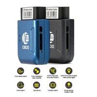 trackers fahrzeuge groihandel-Großhandel K206 OBD2 Auto GPS-Verfolger Echtzeit-Verfolger-Auto Fahrzeug mit Tracking-System Anti-Diebstahl-Car Kit LBS für Universal