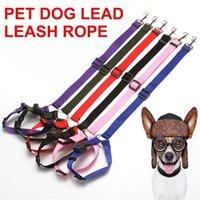 Wholesale pet car safety resale online - Universal Practical Dog Cat Pet Safety Adjustable Car seat Belt Harness Leash Travel Clip Strap Lead Pet Car Safety Belt