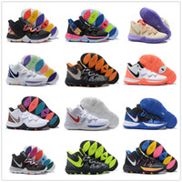 Wholesale high ankle boys shoes for sale - Group buy Hot Boys Kids Kyrie V All Star Basketball Shoes Irving S Men Youth Girls Women Zoom Sport training Sneakers High Ankle Size