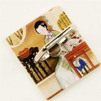 cep telefonları china mobile toptan satış-Yüksek Kalite Evrensel Hava Yastığı Kavrama Cep Telefonu Tutucu Standı Bracke Çin Rüzgar Saray Müzesi karakteristik sopa-on cep telefonu yüzük