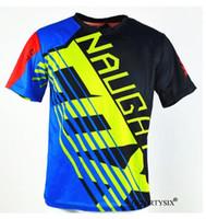 vilains t shirts achat en gros de-NAUGHTY FOX 360 Dirt Bike Motocross Vélo Jersey Maillot vtt Mountain Downhill Vélo T-shirts Tout-Terrain Moto Maillot DH VTT BMX