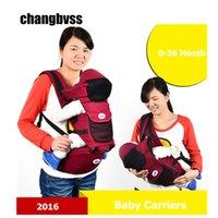 sırt çantası askıları toptan satış-Ucuz Pamuk Bebek Arabası Bebek Sling Suspenders Bel Kemeri Sırt Çantası Hipseat Kemer Bebek Holding Bebek Wrap Rider Seat tutun