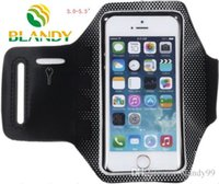 Wholesale cell phone sports bands online – For Iphone for samsung phone Waterproof Sports Running spot Armband Case Workout Armband Holder Pounch Cell Mobile Phone cases Arm Bag Band