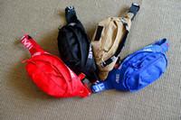 bolsas de nylon para acampar al por mayor-Sup 18SS Bolso de cintura 44º Unisex Fanny Pack Moda Hombres Lienzo Hombres Bolsas de mensajero 17AW Bolso de hombro con etiqueta